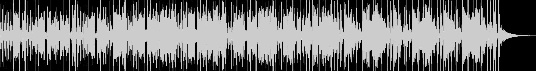 四つ打ち、シンセ、ラテン風シンセ曲の未再生の波形