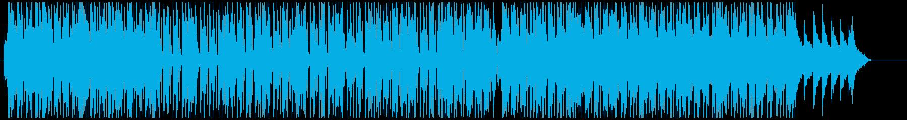 ポップで使いやすいレゲトン、ラテン曲の再生済みの波形