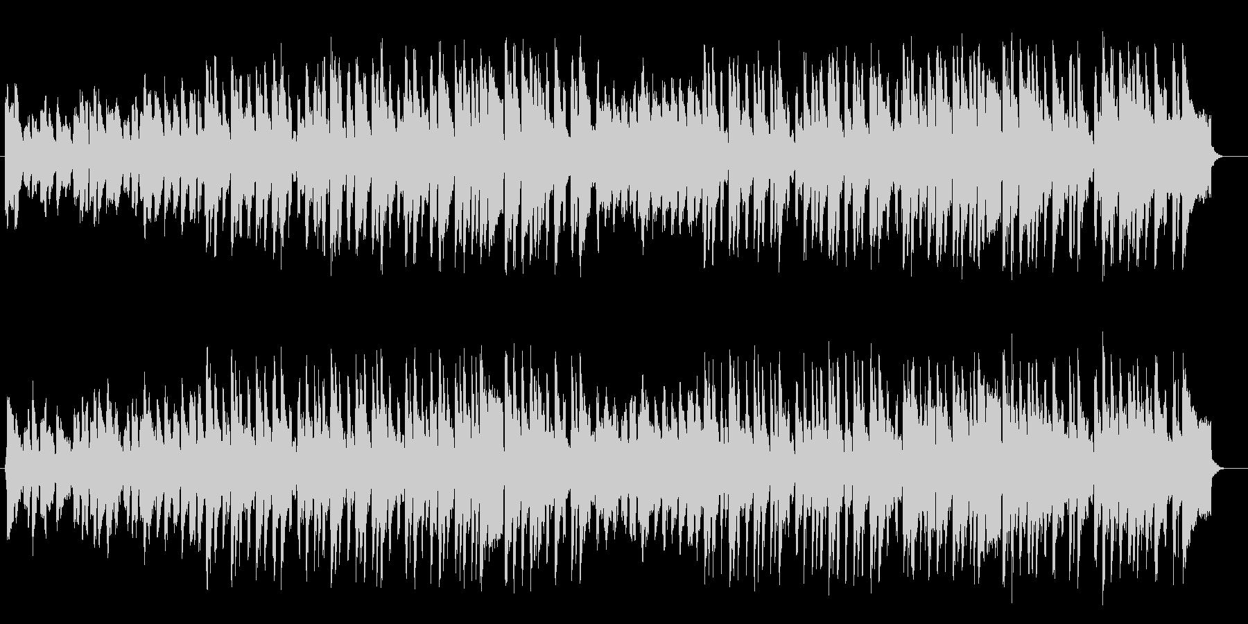 神秘的な琴が特徴的なの和洋折衷のBGMの未再生の波形