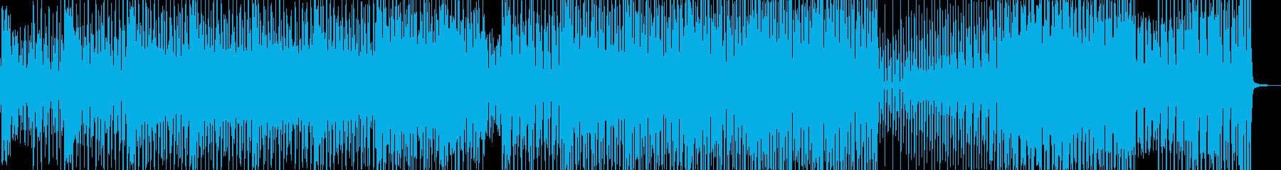 セクシーでアクの強いリズム・テクノ B2の再生済みの波形