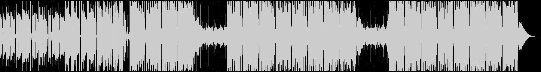 実験的な岩 バックシェイク ファン...の未再生の波形