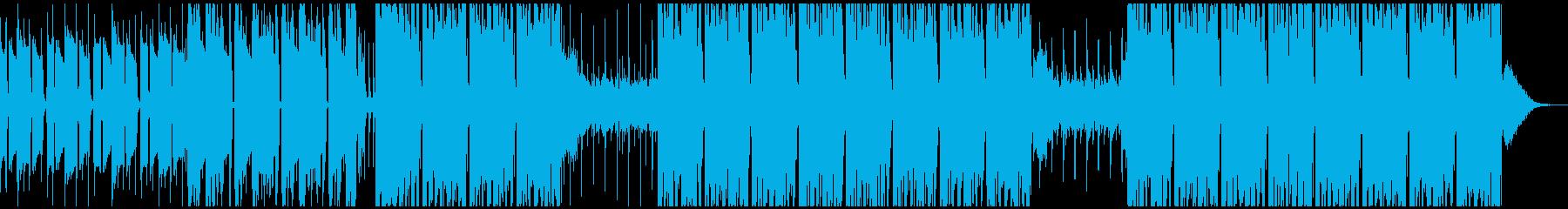 実験的な岩 バックシェイク ファン...の再生済みの波形