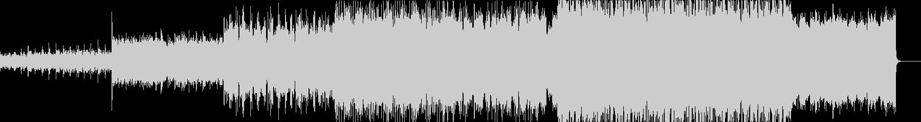 シネマティックなミディアムエレクトロの未再生の波形