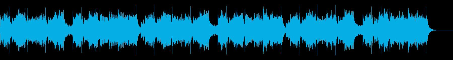 琴と尺八の、シンプルなお正月のBGMの再生済みの波形