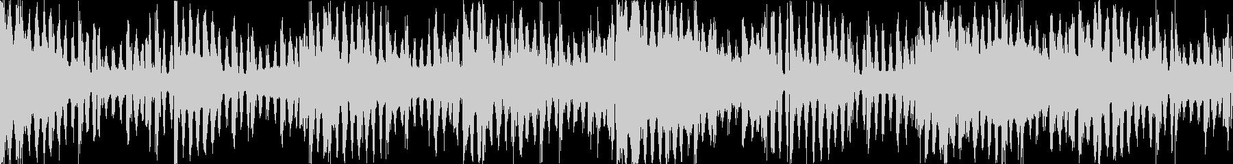 ダブステップ ホラー系の不気味なダブステの未再生の波形