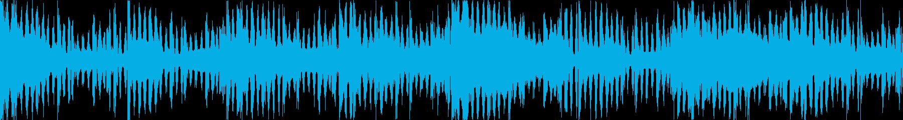 ダブステップ ホラー系の不気味なダブステの再生済みの波形