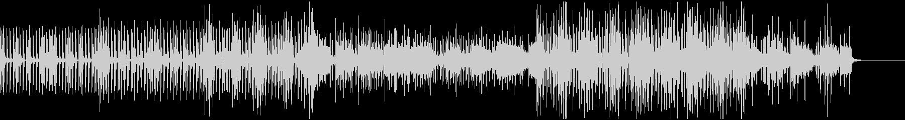 クールな作業系・ハウス・BGMの未再生の波形