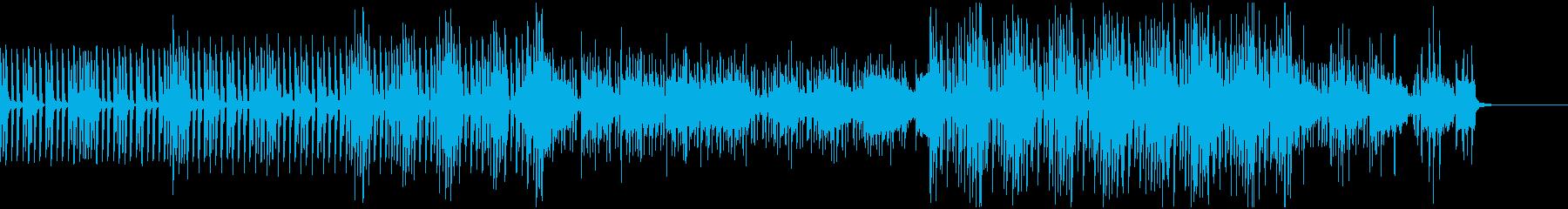 クールな作業系・ハウス・BGMの再生済みの波形