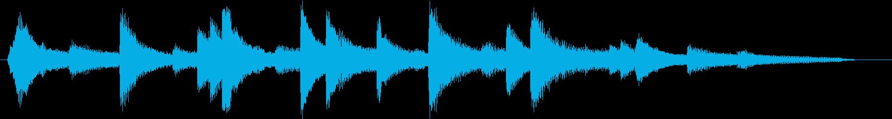 結婚式効果音_誓い01の再生済みの波形