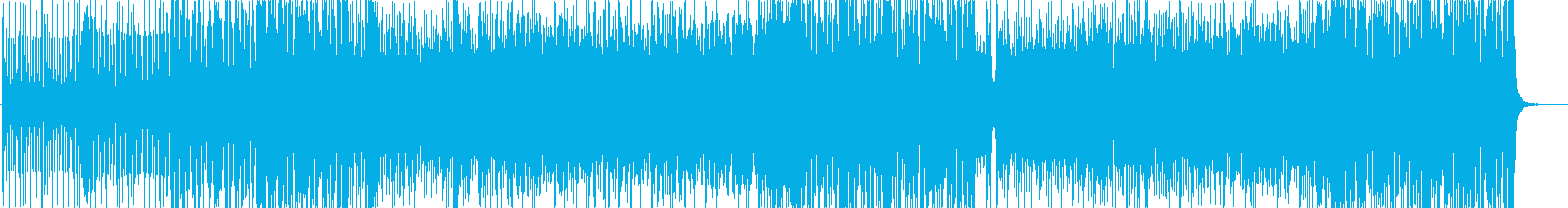 ピアノの旋律に哀愁漂うジャズサンバの再生済みの波形