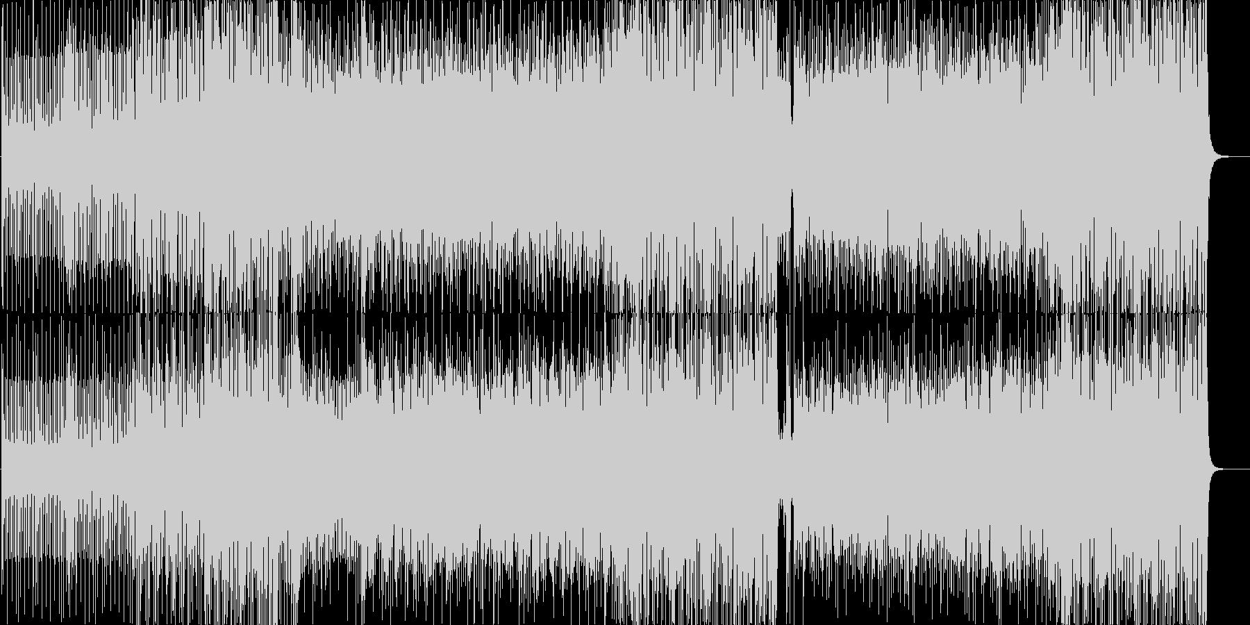 ピアノの旋律に哀愁漂うジャズサンバの未再生の波形
