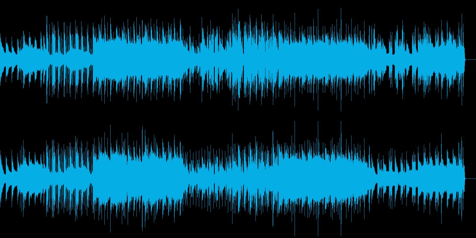 壮大で感動的ローファイヒップホップの再生済みの波形