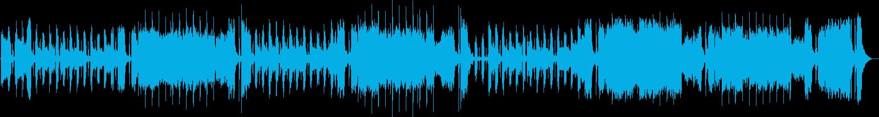 アコーディオンの音色が少し気だるい、ス…の再生済みの波形
