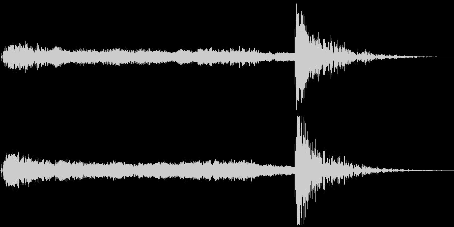 狂言や掛け声、太鼓,鼓の和風演出に最適3の未再生の波形