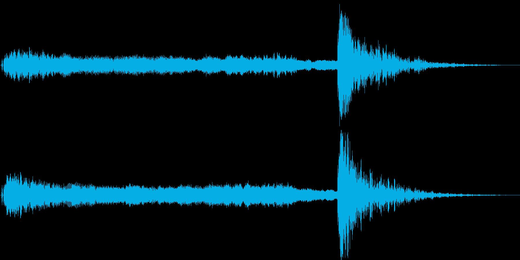 狂言や掛け声、太鼓,鼓の和風演出に最適3の再生済みの波形