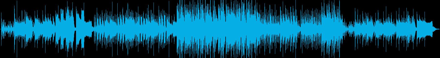 アコースティック系ですの再生済みの波形
