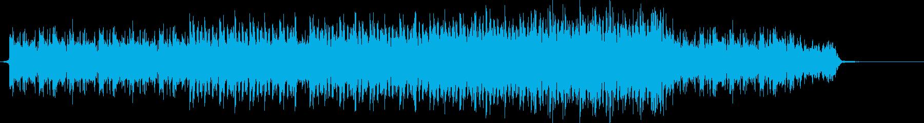 V-LOGなどおしゃれな映像に合うBGMの再生済みの波形