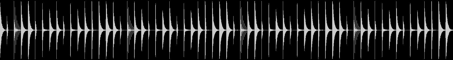 レトロリズムボックス(ループ)96bpmの未再生の波形