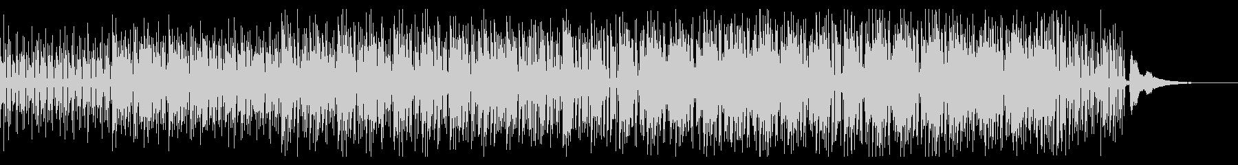 クラシックギターとピアノのボサノバ風Aの未再生の波形