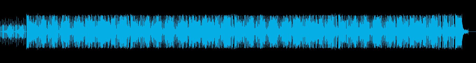 パズルゲームをイメージしたシンセポップの再生済みの波形