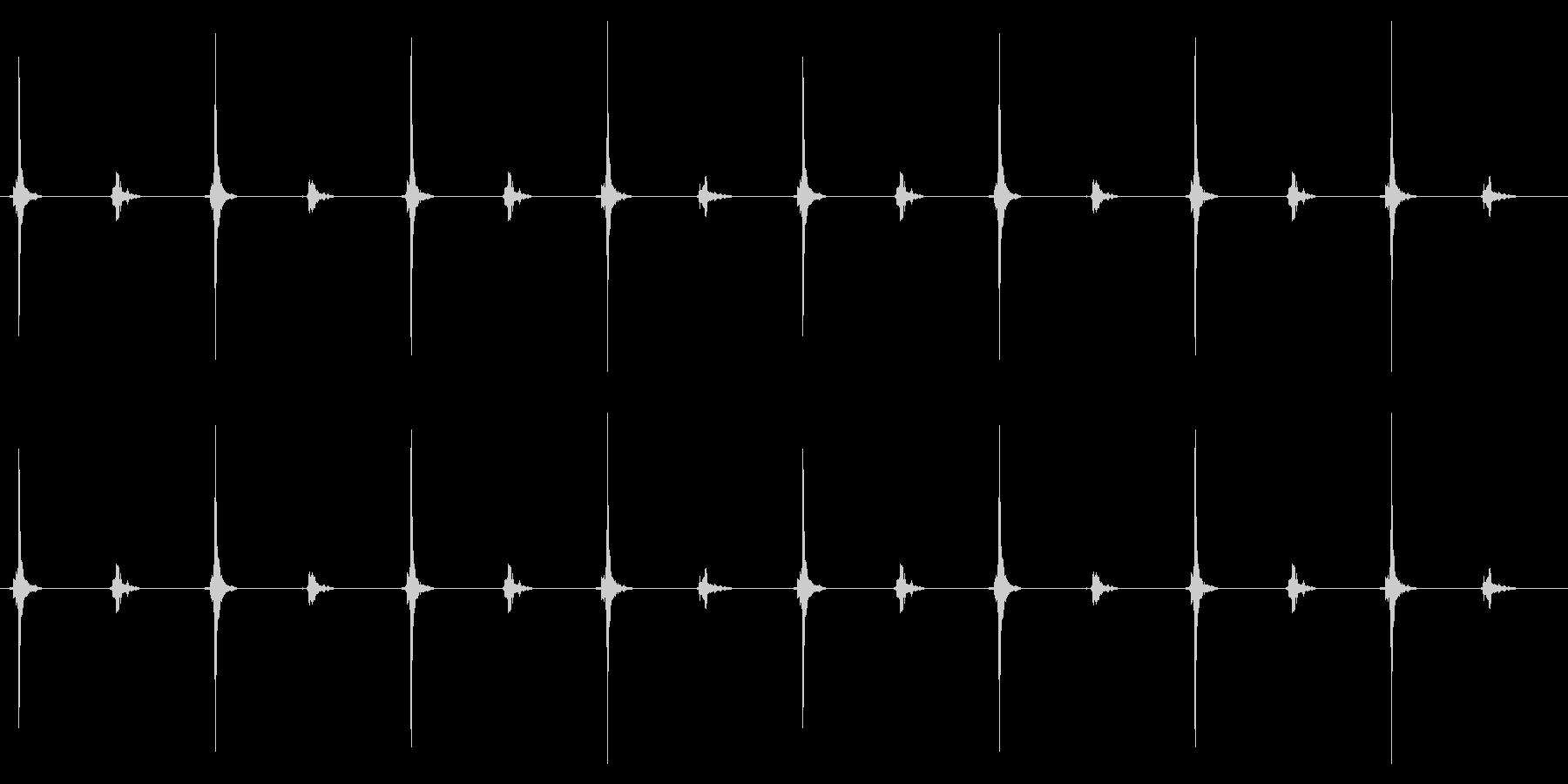 時計 秒針02-3(ループ 3)の未再生の波形