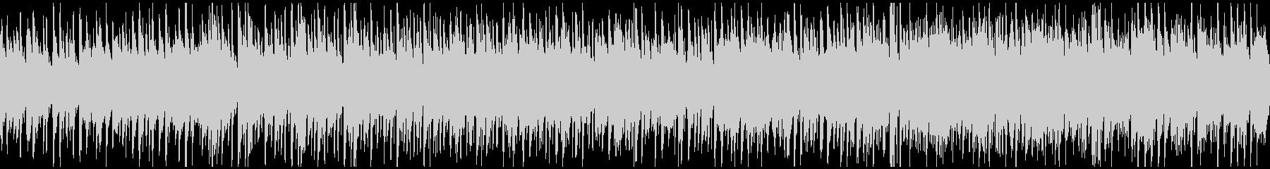 ハッピーなウクレレ曲、ハワイ ※ループ版の未再生の波形