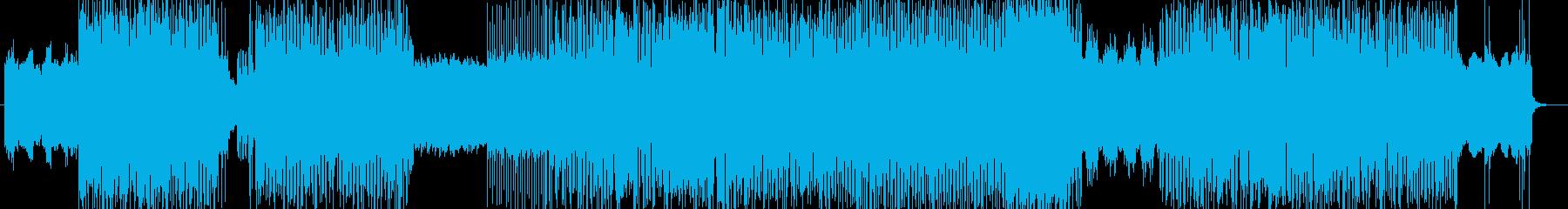 「HR/HM」「DEAD」BGM96の再生済みの波形