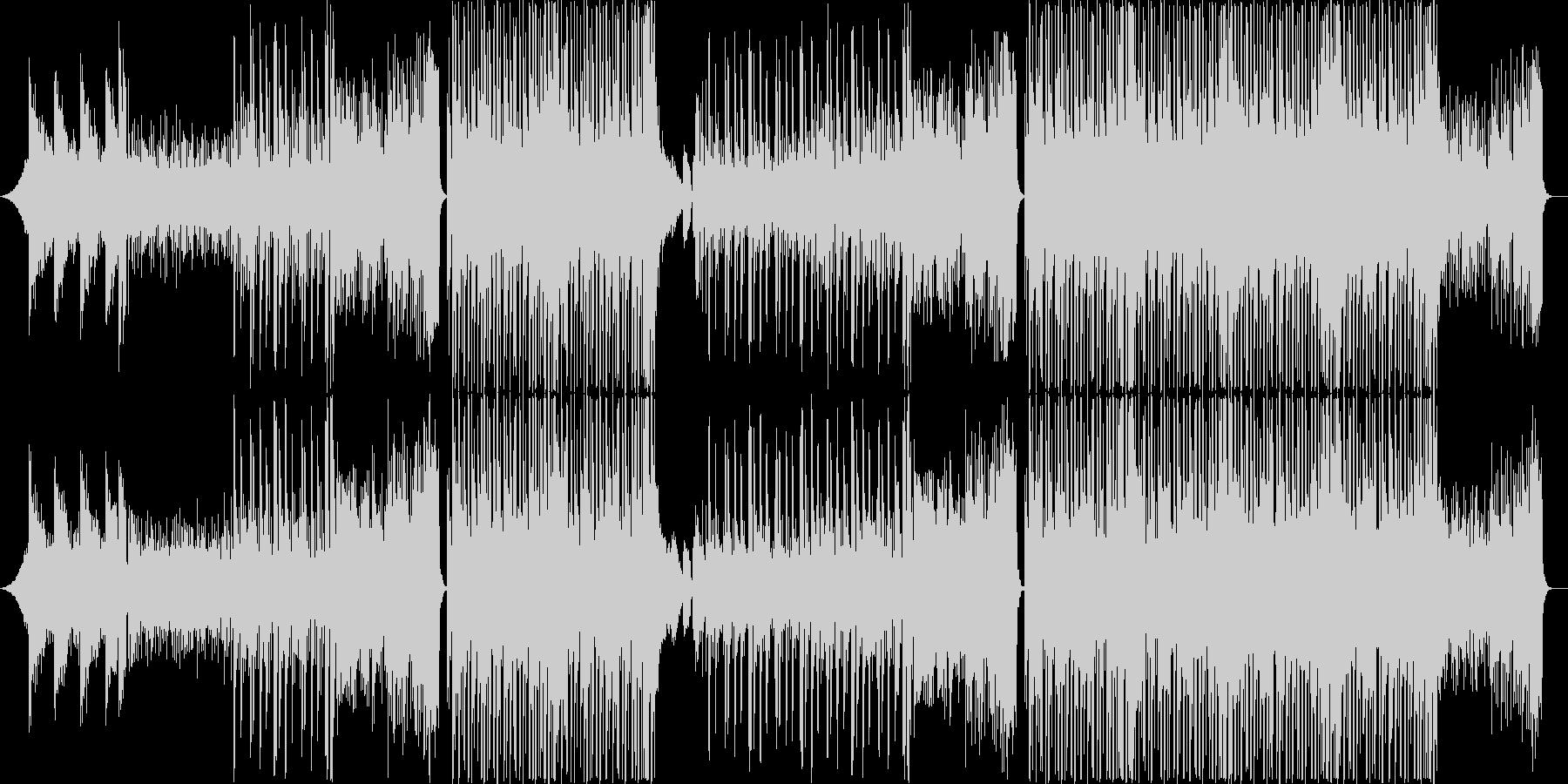 K-POP、トラップハードラック♪の未再生の波形