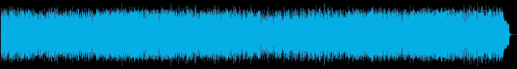 明るいエレクトーンによるポップスの再生済みの波形