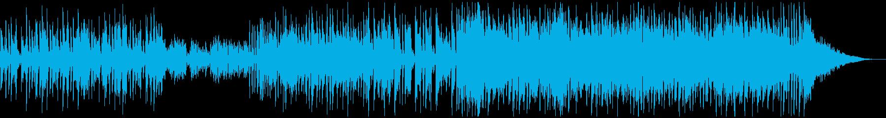 上質な雰囲気のミディアムテンポ曲の再生済みの波形