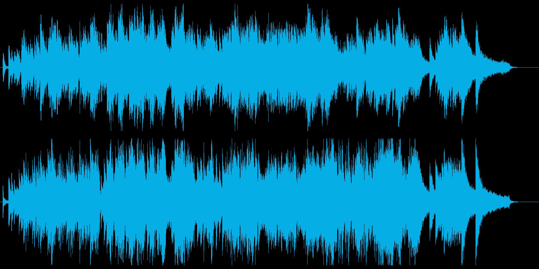 ドビュッシー、アラベスク風ピアノ曲の再生済みの波形