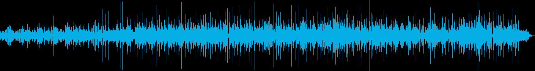 素朴ほのぼのBGM リコーダーとギターの再生済みの波形