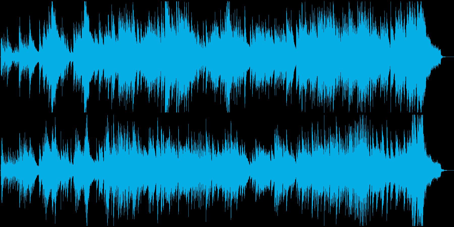 現代音楽風の優雅なピアノ曲ですの再生済みの波形