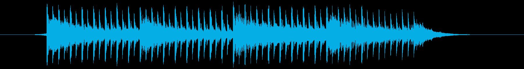 これはインタビュー(30秒)の再生済みの波形