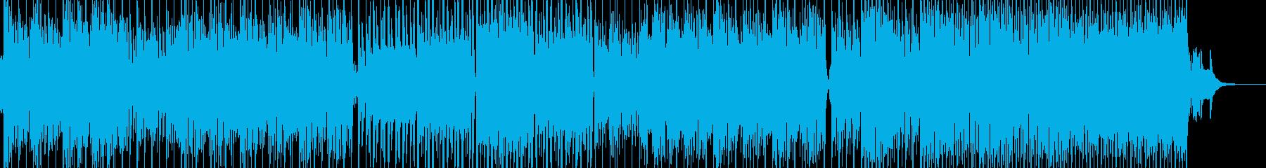 民族的で原始的な雰囲気を演出 エレキ無Bの再生済みの波形