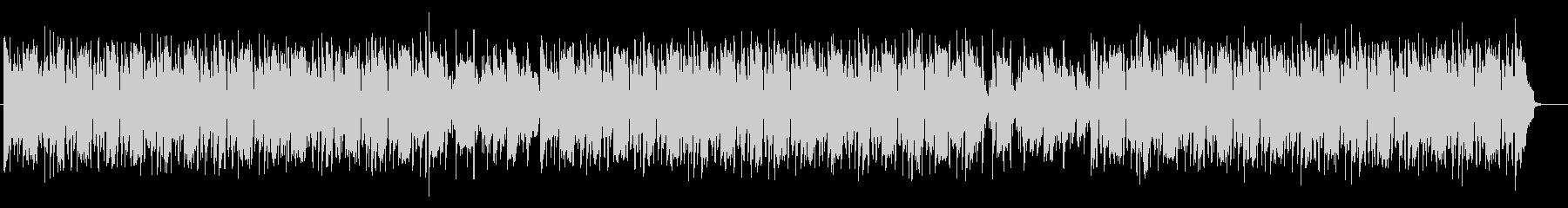 スウィングのリズムのポップスの未再生の波形
