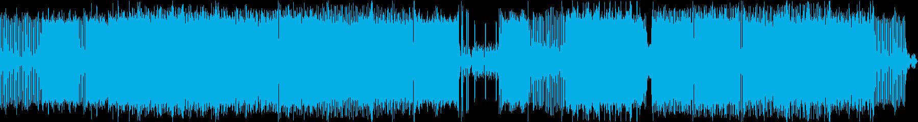 エレクトロハウス。ミステリアス。の再生済みの波形