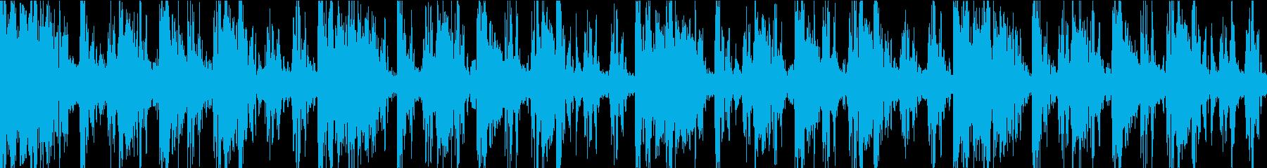 ダークエレクトログルーブ。ラフでエ...の再生済みの波形