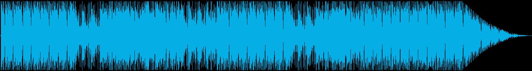 ウクレレが特徴的な夏の爽やかBGMの再生済みの波形