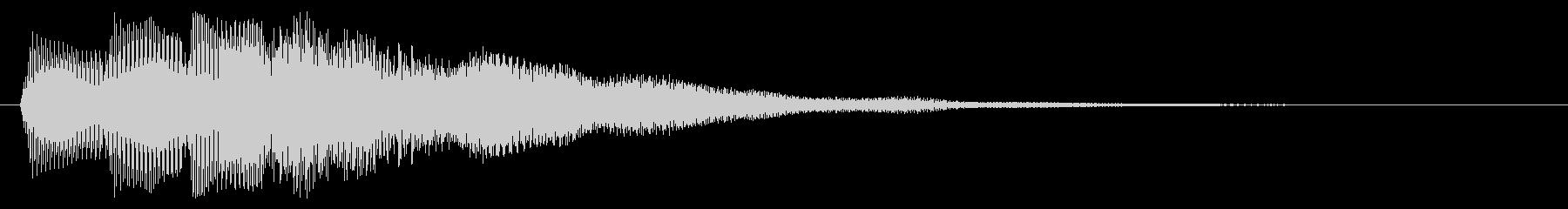 ゲームオーバー ミス 失敗した時の音の未再生の波形