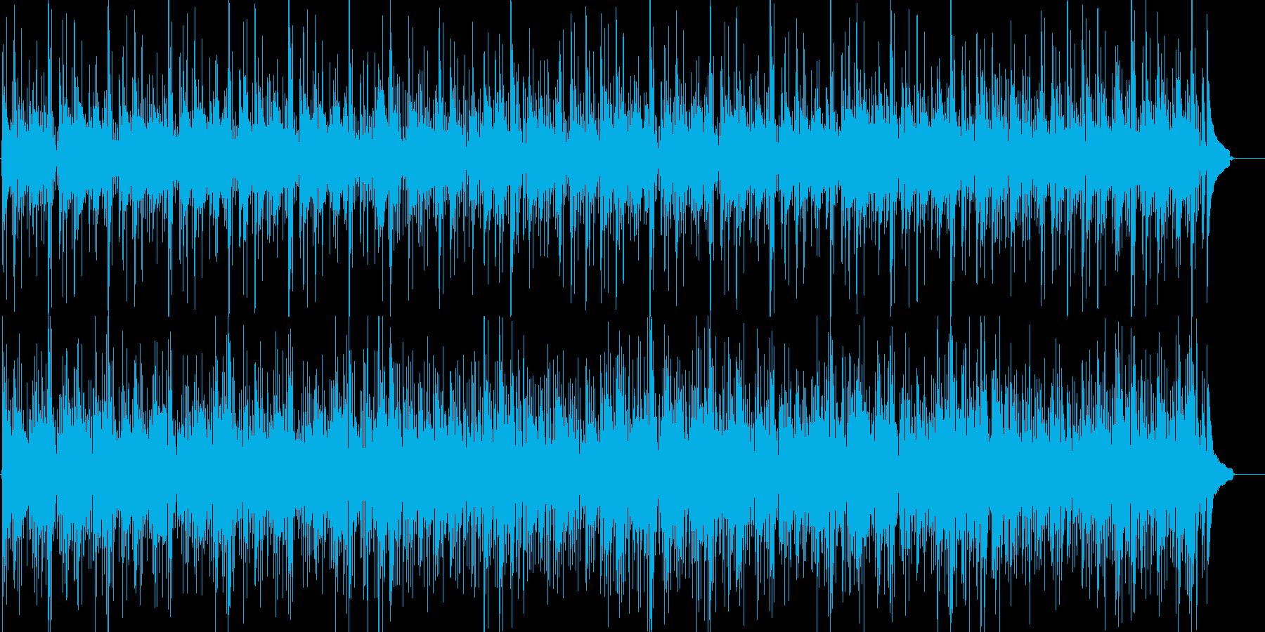 アコースティックな♬カフェミュージックの再生済みの波形