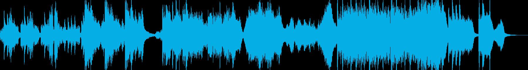 和風でしっとり、映像向けドラマチックな曲の再生済みの波形