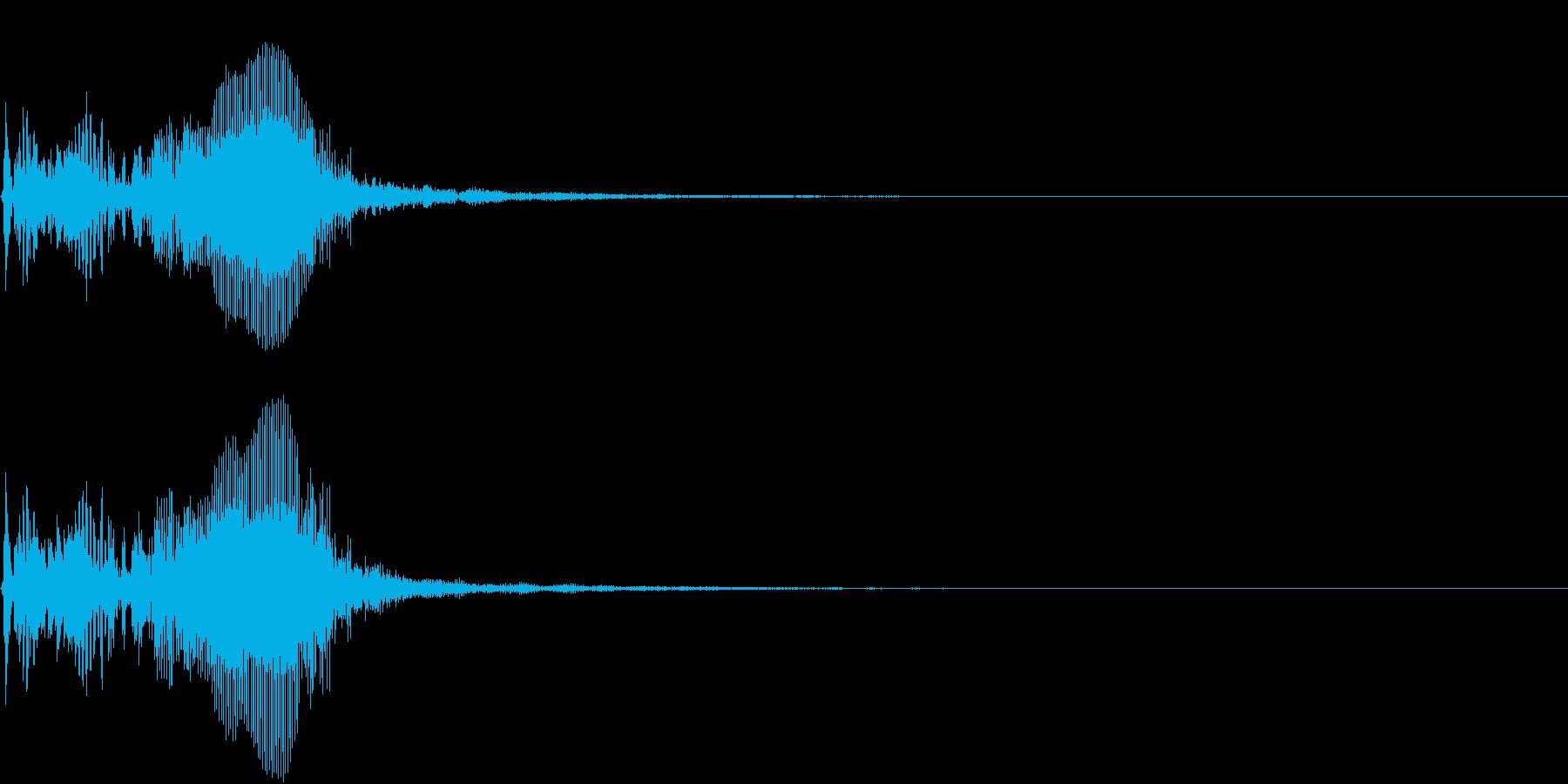 【生録音】フラミンゴの鳴き声 6の再生済みの波形