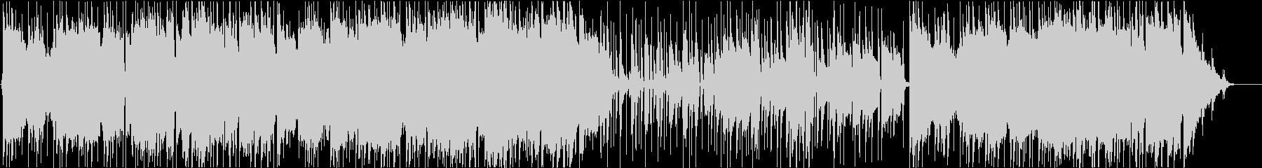 J.S.バッハ「G線上のアリア」AOR風の未再生の波形