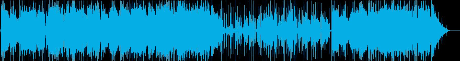 J.S.バッハ「G線上のアリア」AOR風の再生済みの波形
