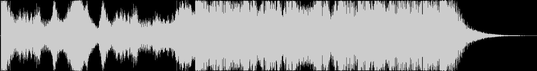 不安・緊張感~打楽器◆予告編/トレーラーの未再生の波形