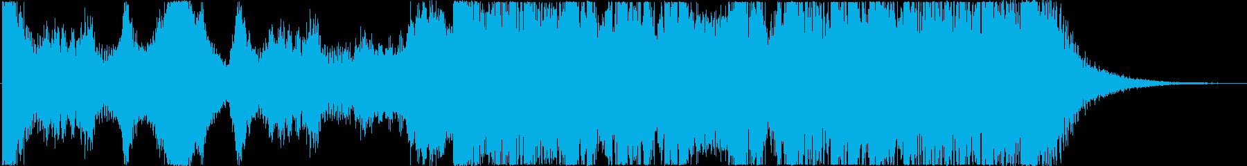 不安・緊張感~打楽器◆予告編/トレーラーの再生済みの波形