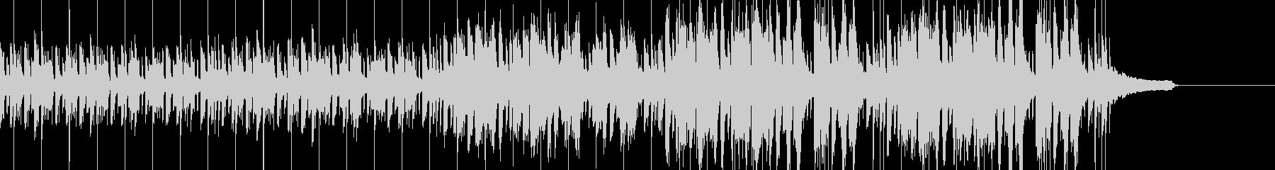 Future bass風の曲の未再生の波形