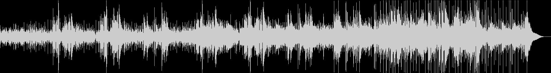 感動を演出するアコギバラードの未再生の波形