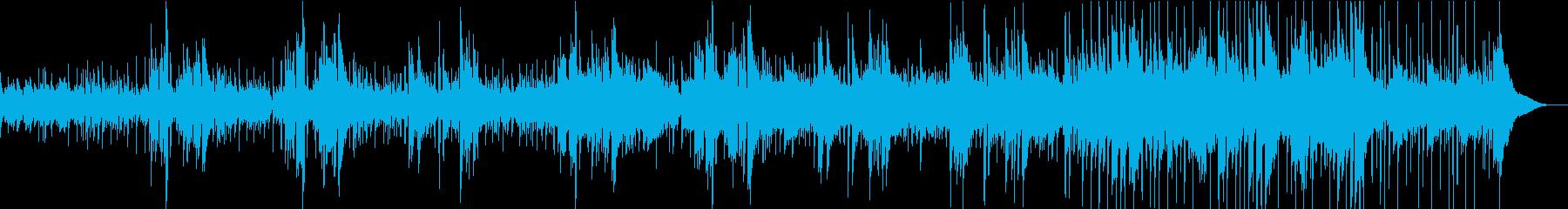 感動を演出するアコギバラードの再生済みの波形